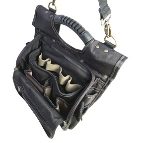 21 POCKET ZIPPERED TOOL POUCH