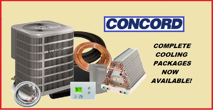 Concord Cooling System Packages