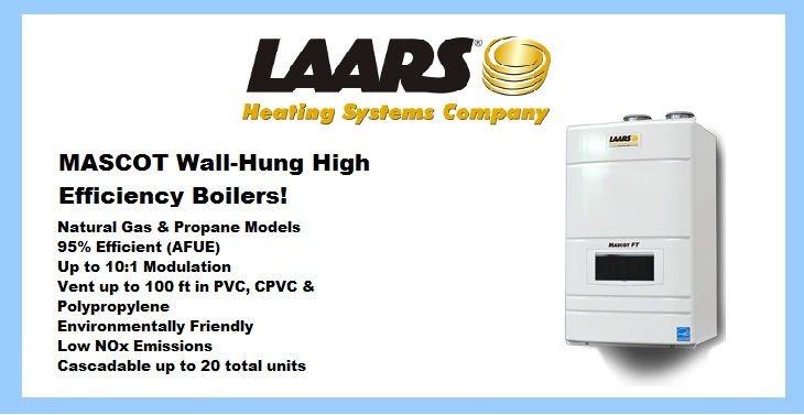 High Efficiency Laars Boilers - Shop By Category for More!